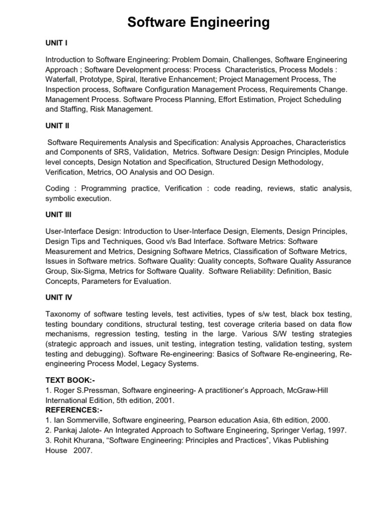 Syllabus By S Kakkar Class Computer Programming C