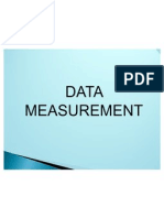 2.1.4 Data Measurement