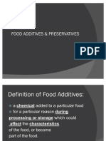 Food Additives & Preservatives
