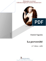Patrick Vignoles - La perversité