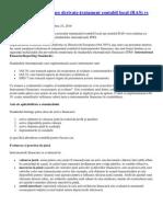 Instrumentele financiare derivate