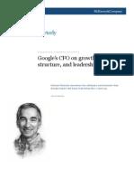Google's CFO on Growth