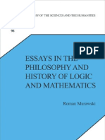 Essays in the Philosophy and History of Logic and Mathematics