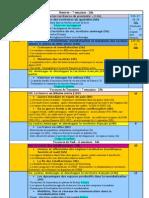 programmation 1ère 2011-2012