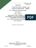 Penstock Butterfly Valves Standard