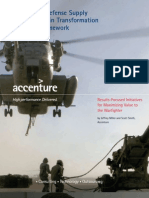 Accenture Defense Supply Chain Transformation Framework