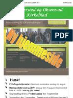 Kirkebladet - August 2011