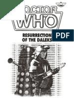 Doctor Who Resurrection