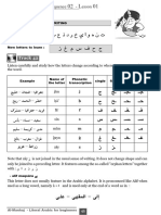 Writing arabic letters