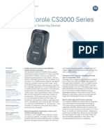 Motorola CS3070 Specification