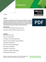 VCP511 Exam Blueprint Guide 1.2