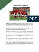 Artikel Sejarah Sepakbola