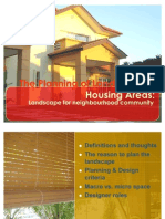 Landscape for Housing