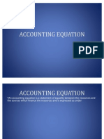 Accounting Equation Final