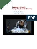 Ramadan Lessons