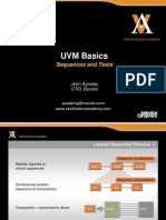 Module Basic-uvm Session6 Sequences and Tests