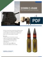 20mm C-RAM Counter Rocket, Artillery, and Mortar