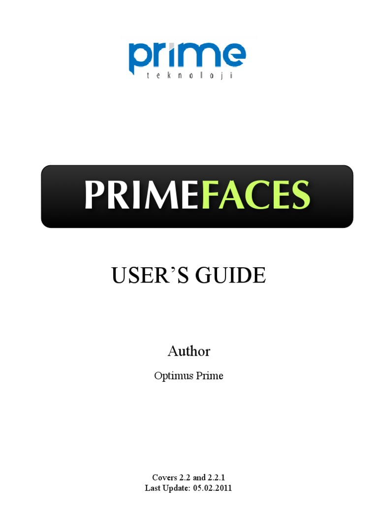 Prime Faces Users Guide 2 2 | Boolean Data Type | Button (Computing)