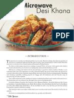 Microwave Desi Khana Tarla Dalal
