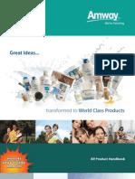 All Product Handbook English