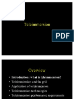 teleimmersion