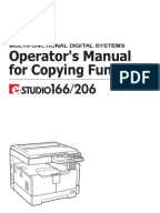 toshiba e studio 166 service manual