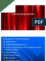 Captial Budgeting Advanced