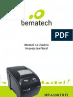 MP-4000 TH FI (GPRS) Manual Do Usuario