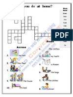 Home Actions Crossword
