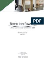 Dossier de presse - Book Inn France, Hôtels indépendants de qualité depuis 1923