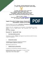 Protocolo N.2  Ejercicio Del Calor. Entrenamiento  Autógeno