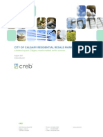 CREB Forecast 2011 Update (August Revision)