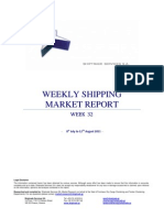 Shipping Market Report 17082011