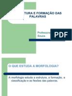 ESTRUTURA E FORMAÇÃO DAS PALAVRAS - apresentação