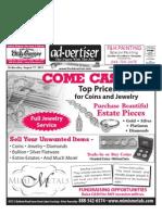 Ad-Vertiser, Aug. 17, 2011