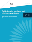 UK Guidelines for Onshore and Offshore Wind Farms