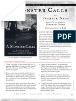 A Monster Calls by Patrick Ness Discussion Guide