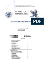 DSU 2010-2011 Faculty Construct Report
