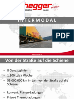 Intermodaler Verkehr - Bahn - Nothegger Transport Logistik GmbH