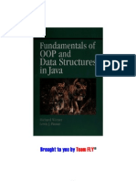 Fundamentals of OOP and Data Structures in Java 2001