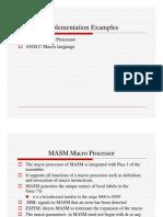 Macro Processor Examples