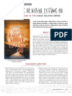 The Knife of Never Letting Go by Patrick Ness Discussion Guide