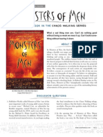 Monsters of Men by Patrick Ness Discussion Guide
