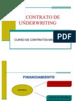 Contrato de Underwriting. Agosto 2009