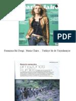 MARIE CLAIRE DERGISINDEN REZALET kamupersoneli.com da