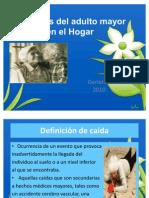 Cuidados Del Adulto Mayor en El Hogar