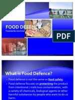 Food Defence Training Presentation