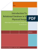 Usage Of Relational Database In IC Physical Design