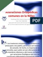 Alteraciones Ortopédicas comunes en la Niñez