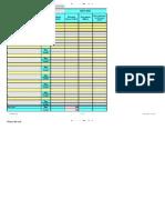 Sample Procurement Planning Template